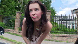 StrandedTeens – Taking a Ride With Two Swingers – Elisabeth