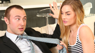 FILF – Stepdaughter Hits On Stepdad To Get To His Massive Cock – Sydney Cole