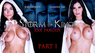 ZZSeries – Storm Of Kings XXX Parody: Part 1 – Anissa Kate, Jasmine Jae, Ryan Ryder