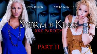 ZZSeries – Storm Of Kings XXX Parody: Part 2 – Aruba Jasmine, Peta Jensen, Rob Diesel