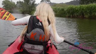 ATKGirlfriends – Bella has a fun day Kayaking with you. – Bella Rose
