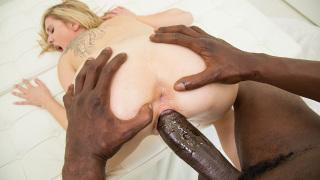Blacked – Skinny Blonde Teen Stretched by Big Black Dick – Tysen Rich, Jason Brown