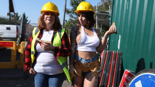 BrazzersExxtra – Cock-Calling On The Job Site – Ivy Lebelle, Danny D