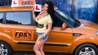 FakeDrivingSchool – Big boobed Hungarian creampied – Anissa Jolie, Ryan Ryder