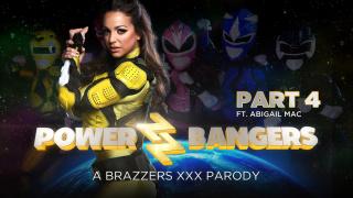 ZZSeries – Power Bangers: A XXX Parody Part 4 – Abigail Mac, Danny D