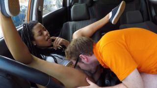 FakeDrivingSchool – Ebony American Minx Craves Creampie – Kira Noir, Ryan Ryder