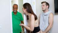 FamilyStrokes – Prankster Penis For Stepsis – Michele James, Brick Danger
