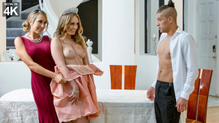 StepMomLessons – Dinner For Deviants: Sweet Dessert – Brett Rossi, Daisy Stone, Xander Corvus