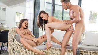 Vixen – Sugar Daddy Sharing – Tori Black, Little Caprice, Marcello Bravo