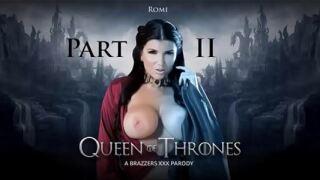 ZZSeries – Queen Of Thrones: Part 2 (A XXX Parody) – Romi Rain, Xander Corvus