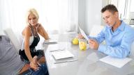 PervMom – Aged Milf Stepmom Seduces Her Son During Chores – Olivia Blu, Tyler Steel
