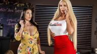 BrazzersExxtra – Caught Talking Dirty – Angela White, Nicolette Shea, Jessy Jones