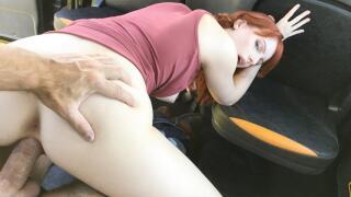 FakeTaxi – Hairy Redhead Pussy Cum Splattered – Alex Harper