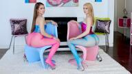 TrueAnal – Naomi And Anastasia Make A Filthy Duo – Anastasia Knight, Naomi Blue, Mike Adriano