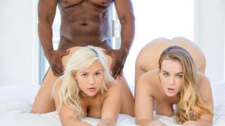 Blacked – Two curvy girls compete – Natasha Nice, Kylie Page, Prince Yahshua