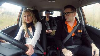 FakeDrivingSchool – Horny Learners Squirting Orgasms – Lindsey Cruz, Parker Marx