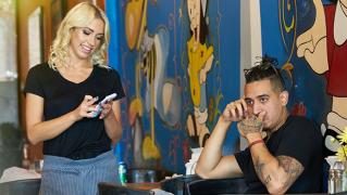 WaitressPOV – Overworked, Undersexed – Khloe Kapri, Bruno Dickemz