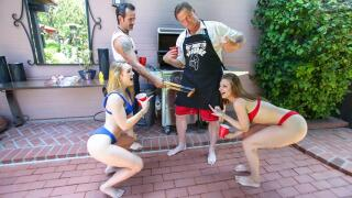 DaughterSwap – Summer Swap And Smash – Jaycee Starr, Natalie Knight, Dick Chibbles, Rusty Nails