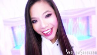 SwallowSalon – Swallow Salon Welcomes Vina Sky for a Blowjob and Cum Swallow – Vina Sky