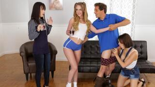 ThatSitcomShow – Threesome Company Lovers And Friends S3:E11 – Alana Cruise, Daisy Stone, Krissy Lynn, Tyler Nixon