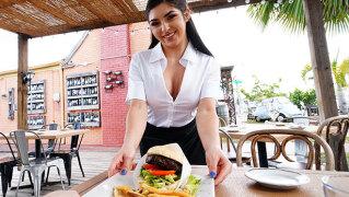 WaitressPOV – Burger Shop Bitch – Keira Croft, Tony Rubino