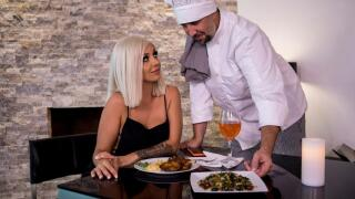 RealWifeStories – Pussy For The Private Chef – Madelyn Monroe, Keiran Lee