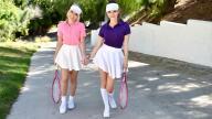 StepSiblings – Stepsister Tennis Sex – Allie Nicole, Athena Faris, Stirling Cooper