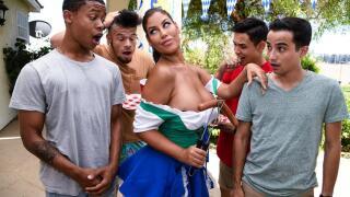 BrazzersExxtra – It's A Sausage Fest – Bridgette B, Lil D, Ricky Spanish