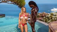 Blacked – A Perfect Vacation – Mia Melano, Freddy Gong