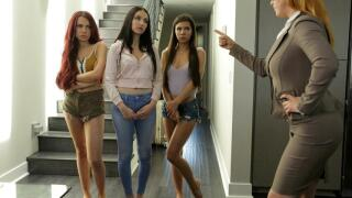DetentionGirls – Girls Left Alone S2:E4 – Jade Baker, Milana Ricci aka Milana May, Sabina Rouge