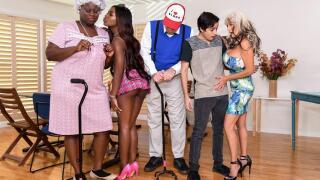 BrazzersExxtra – Bingo Bang – Noemie Bilas, Sally D'Angelo, Ricky Spanish