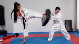 BrazzersExxtra – Fighting Foot Domination – Kira Noir, Ricky Spanish