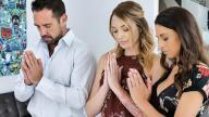 FosterTapes – Evangelical Family Manipulated By Foster Teen aka Foster Daughter Benefits From Physical Bonding Exercise – Eva Long, Charlotte Sins, Johnny Castle