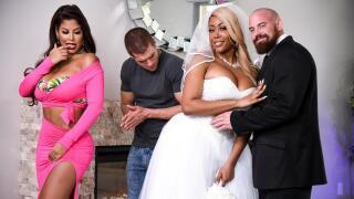 RealWifeStories – Moriah's Wedding Shower – Bridgette B, Moriah Mills, Xander Corvus