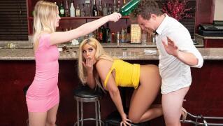 SneakySex – Cocktail Tease – Bridgette B, Van Wylde