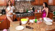 WeLiveTogether – Post-Party Cleanup – Ariella Ferrera, Desiree Dulce
