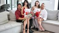 DaughterSwap – Valentines Day Daughter Orgy – Hime Marie, Aften Opal, Marcus London, Tommy Gunn