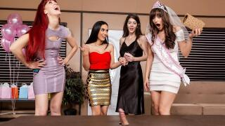 BrazzersExxtra – The Gift Of Cock – Lexi Luna, Tia Cyrus, Xander Corvus