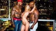 BlackedRaw – Euro Model Loves BBC – Shona River, Jason Luv, Nat Turnher