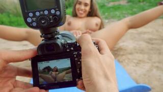 PublicPickups – Briana's Outdoor Photo Shoot – Briana Banderas, Jordi El Nino Polla