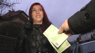 PublicAgent – Horny Redhead Introduces Her Pussy To Stranger's Thick Cock – Barbra Sweet, Martin Gun