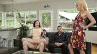 FamilySwapXXX – Family Swap Wife – Leia Rae, Tiffany Fox, Rion King, Jack Vegas