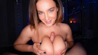 MrLuckyPOV – Large Natural Knockers Drain All The Cum – Natasha Nice
