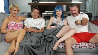 FamilySwapXXX – Daddy Gives Gold Stars – S1:E7 – Jewelz Blu, Kit Mercer, Charles Dera, Tyler Nixon