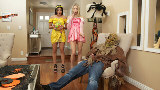 StepSiblingsCaught – Step Brothers Trick And Treat – S15:E1 – Kylie Rocket, Lily Larimar, Nathan Bronson