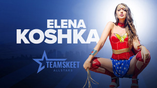 TeamSkeetAllStars – A Night with Wonder Woman – Elena Koshka, Nathan Bronson