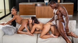 Blacked – Lazy Sunday – Adriana Chechik, Kira Noir, Rob Piper