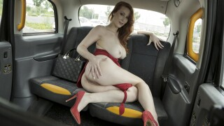 FakeTaxi – The Redhead in the Red Dress – Isabella Lui