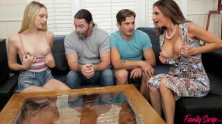 FamilySwapXXX – When The Swap Goes Wrong – S2:E1 – Lily Larimar, Silvia Saige, Jack Vegas, Nathan Bronson