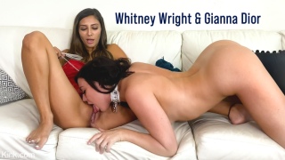 KinkyBites – Kinky Roommates: Whitney Wright and Gianna Dior – Gianna Dior, Whitney Wright